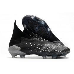 Zapatillas de Fútbol adidas Predator Freak + FG Negro Gris Blanco