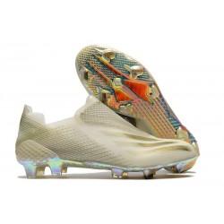 adidas X Ghosted + FG Bota Blanco Oro